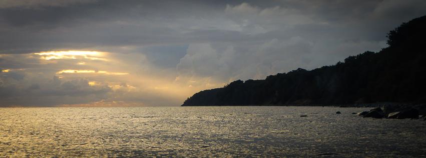 Fantastisk smuk morgen i fantastisk smukke omgivelser